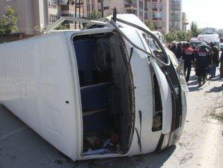 Adana'da trafik kazası: 4 yaralı
