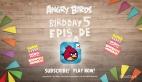 Angry Birds 5 yaşında