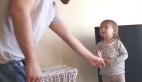 Baba ve minik kızının ilk ciddi tartışması