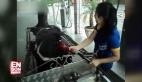 Benzinle çalışan at arabası