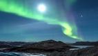 Grönland ve Kuzey ışıklarının inanılmaz görüntüsü