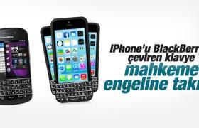 iPhone 6 için geliştirilen klavye mahkemelik oldu