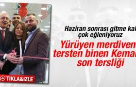 Kılıçdaroğlu bu kez tersten kurdele kesti