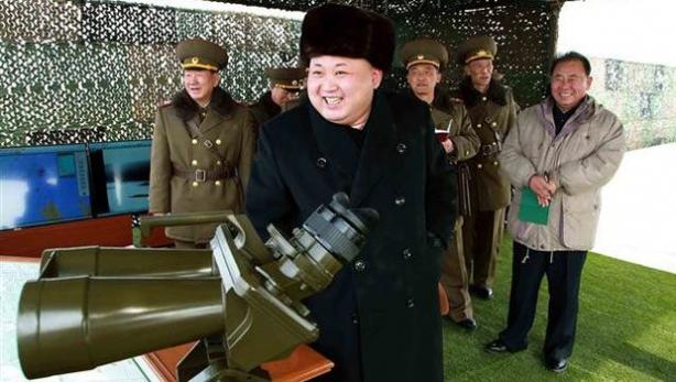 Kuzey Kore lideri Kim'den ABD ve Güney Kore'ye gözdağı