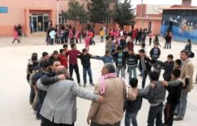 Mardin okulda Mozartlı, Şivan Perwerli teneffüs görüntüleri