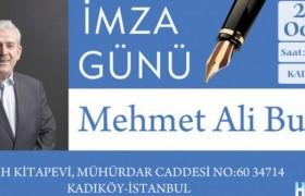 Mehmet Ali Bulut okurlarıyla buluşuyor