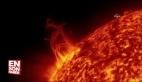 NASA son 5 yılın en büyük güneş patlamasını görüntüledi