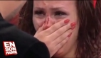 Rus TV şovunda Kadın yarışmacının burnunu kırdılar