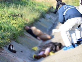 Kızıyla birlikte öldürülen kadın