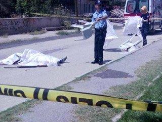 Eşini sokak ortasında ölüdürdü ve intahar etti